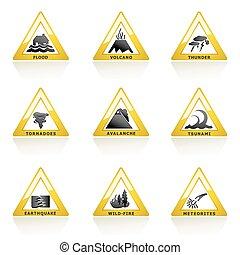 natuurramp, pictogram