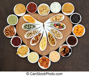 Naughty but Nice Food - Savoury snack and dip party food ...