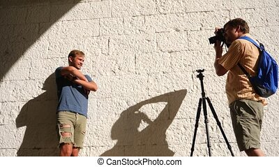 naughty guy, creating for a professional photographer...
