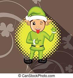Naughty Kid Elf Character