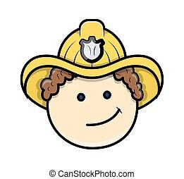 Naughty Smile Engineer Character