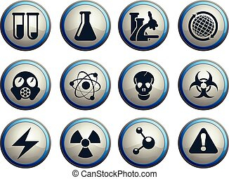 nauka, ikony, komplet