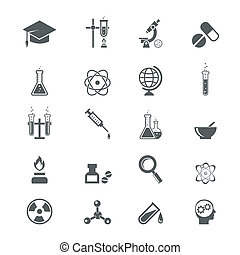 nauka, ikony