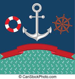 Anchor Illustration  - Nautical Anchor Illustration