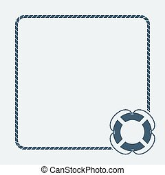 nautical card template