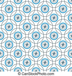 Nautical compass. Wind rose seamless pattern. Design of packaging paper for printing on fabric.