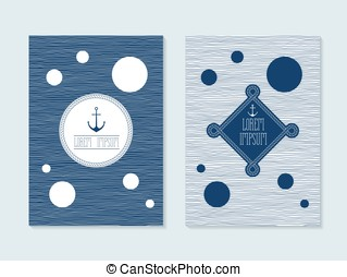 Nautical post cards