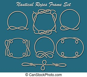 Nautical Ropes Frame set