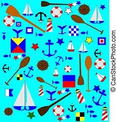nautical theme background