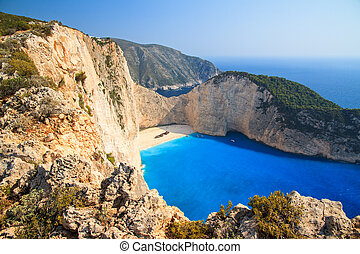 Navagio cliffs