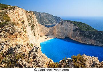 Navagio cliffs