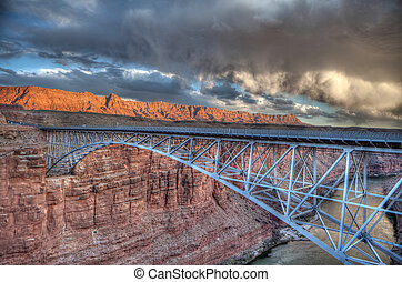 Navajo Bridge - HDR