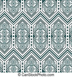 Greyscale Vintage Pattern