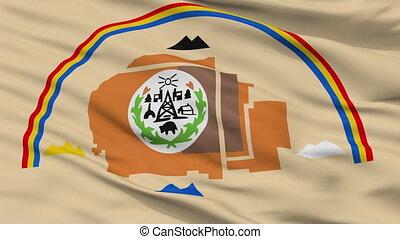 Navajo Indian Flag Closeup Seamless Loop - Navajo Indian...