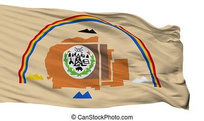 Navajo Indian Flag Isolated Seamless Loop - Navajo Indian...