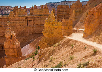 Navajo loop trail in Bryce Canyon