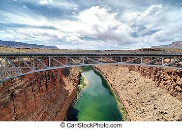 Navajo Over the Colorado