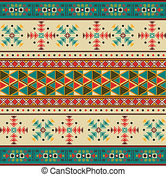 Navajo pattern - Seamless tile with navaho pattern