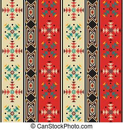 Navajo style pattern