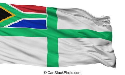 naval, afrique, enseigne, seamless, isolé, drapeau, sud, boucle