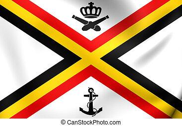 Naval Ensign of Belgium