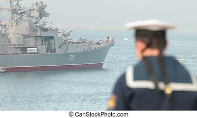Naval parade