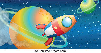 nave espacial, espacio exterior
