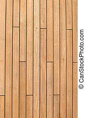 nave, legno, fondo, ponte