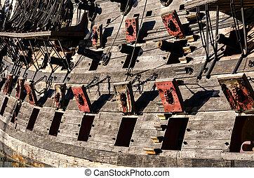 nave, pirata