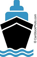 nave, simbolo, crociera