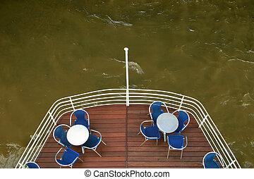 nave, terrazzo