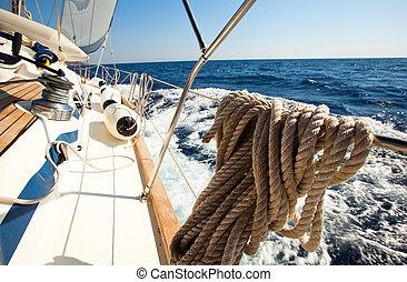 navegación, regatta.