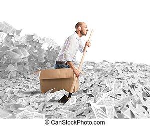 navegar, burocracia