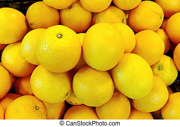 Navel Orange, Group of Friut, Navel orange in market