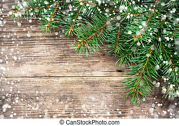 navidad, árbol abeto
