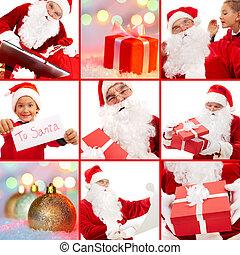 navidad, antes