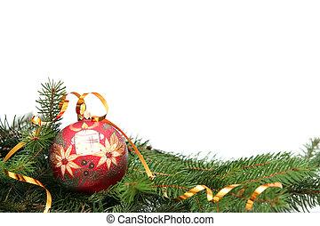 navidad, bombilla