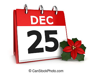 navidad, calendario