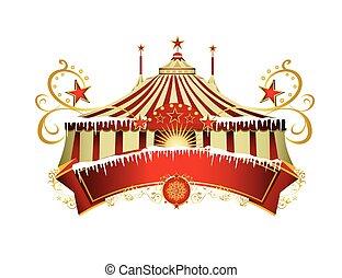 navidad, circo, señal