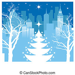 navidad, ciudad