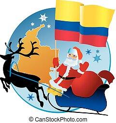 navidad, colombia!, alegre