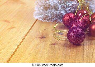 navidad, concepto, plano de fondo