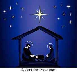 navidad, cristiano, lugar de nacimiento