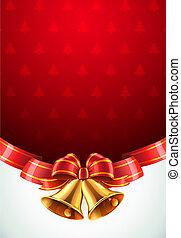 navidad, decorativo, plano de fondo