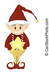 navidad, duende