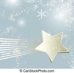 Estrellado estrella fugaz navidad plano de fondo vector for Estrella fugaz navidad
