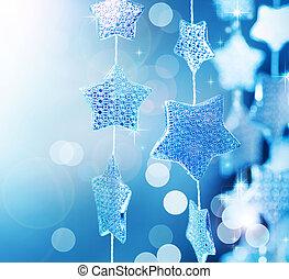 navidad, fondo., invierno