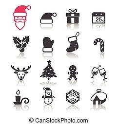 navidad, icono