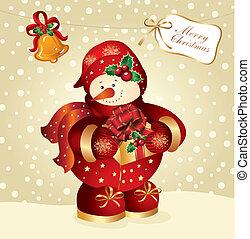 navidad, ilustración