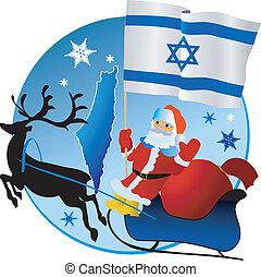 navidad, israel!, alegre